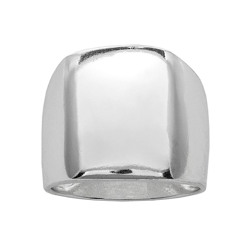 Silver Plated Band Ring