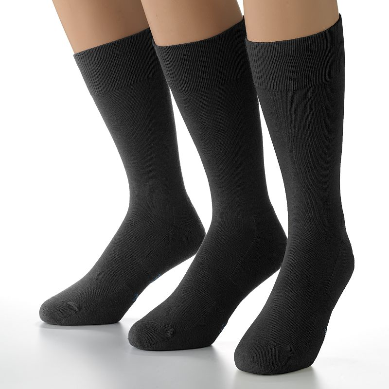 Men's Jockey 3-pk. Staycool Hybrid Crew Performance Socks