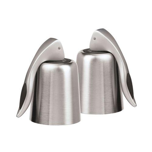 Oggi 2-pk. Stainless Steel Vacuum Wine Bottle Stoppers