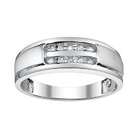 Platina 4 1/10-ct. T.W. Diamond Wedding Band - Men