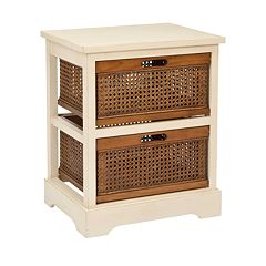 Click here to buy Safavieh Jackson 2-Drawer Storage Unit.