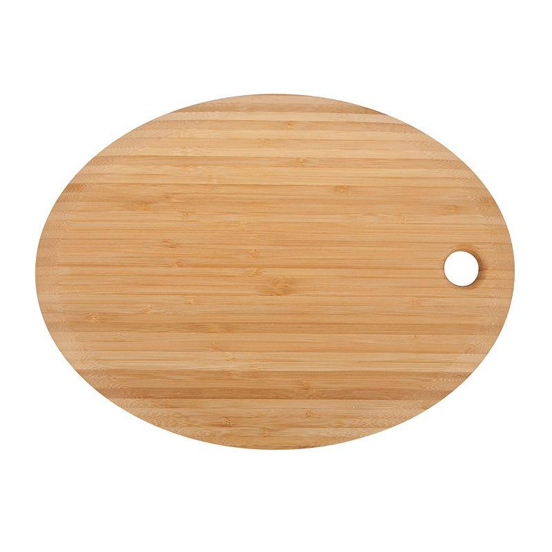 Core Bamboo Medium Oval Cutting Board