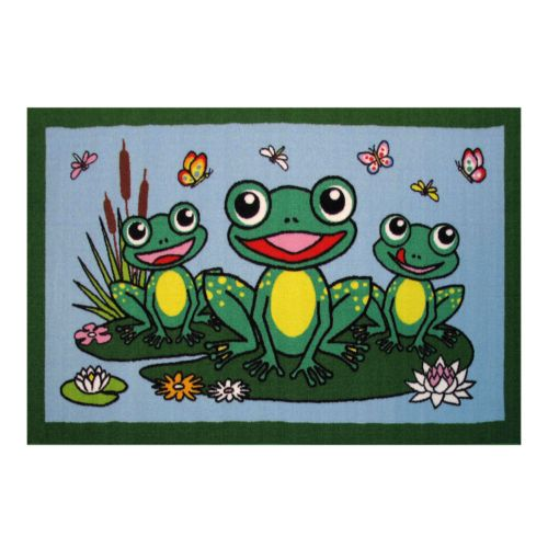 Fun Rugs Fun Time Frogs Rug - 19'' x 29''
