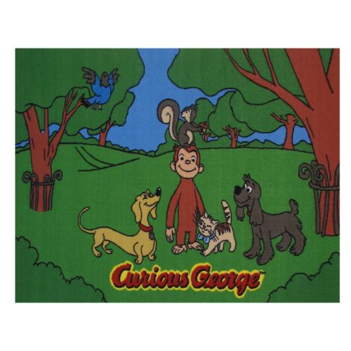 Fun Rugs Curious George and Friends Rug - 19'' x 29''