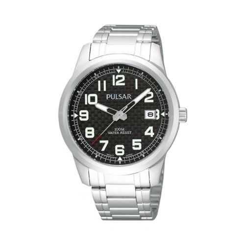Pulsar Men's Stainless Steel Watch - PXHA07X