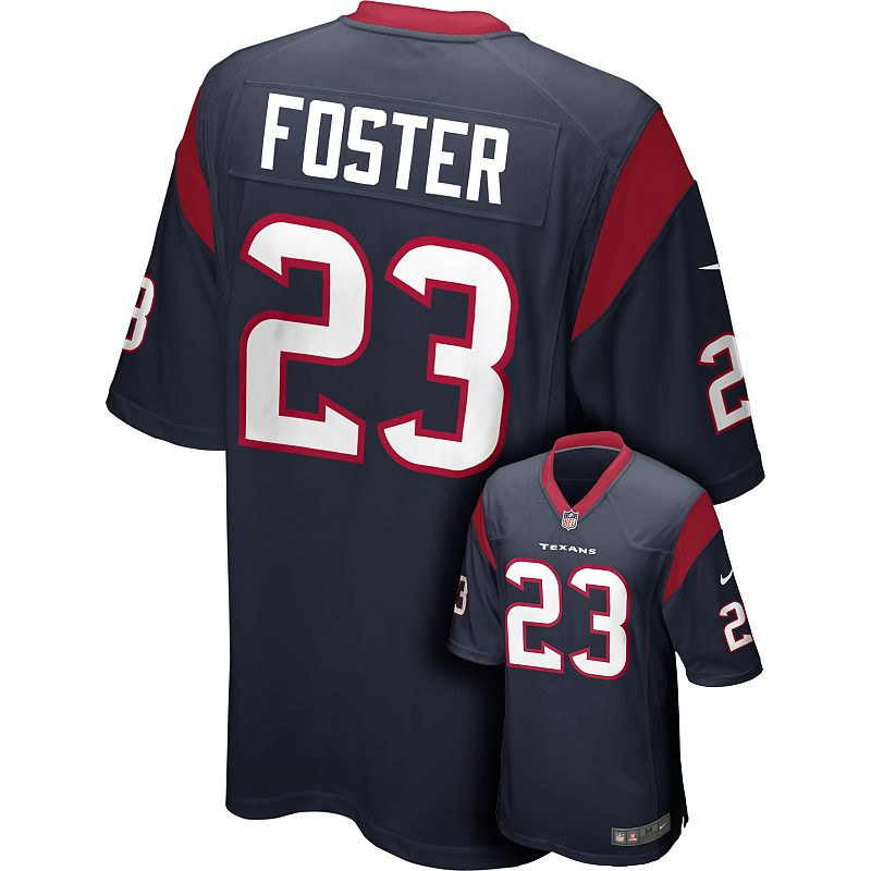 Men's Nike Houston Texans Arian Foster Game NFL Replica Jersey