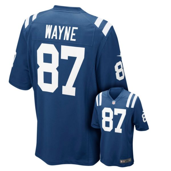 Men's Nike Indianapolis Colts Reggie Wayne Game NFL Replica Jersey