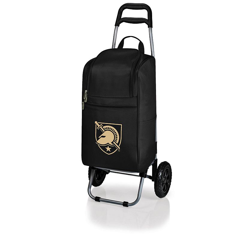 Picnic Time Army Black Knights Cart Cooler