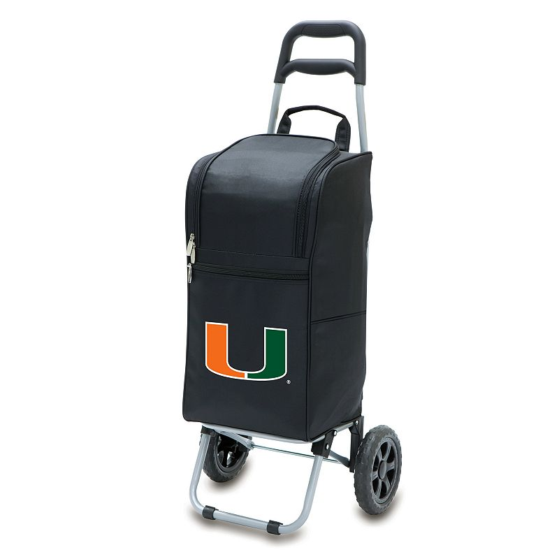 Picnic Time Miami Hurricanes Cart Cooler