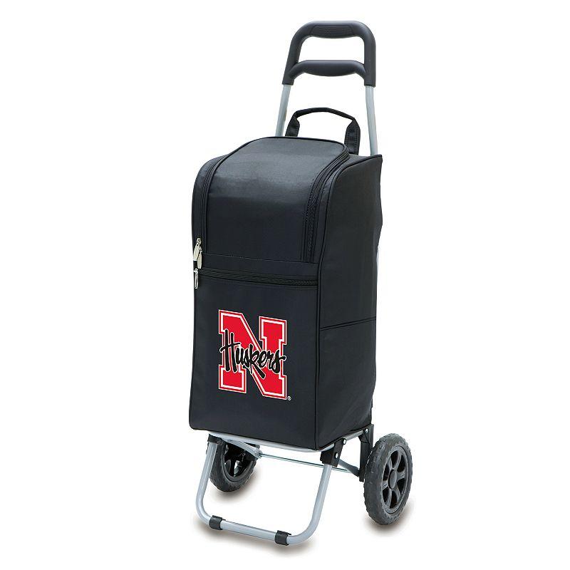 Picnic Time Nebraska Cornhuskers Cart Cooler