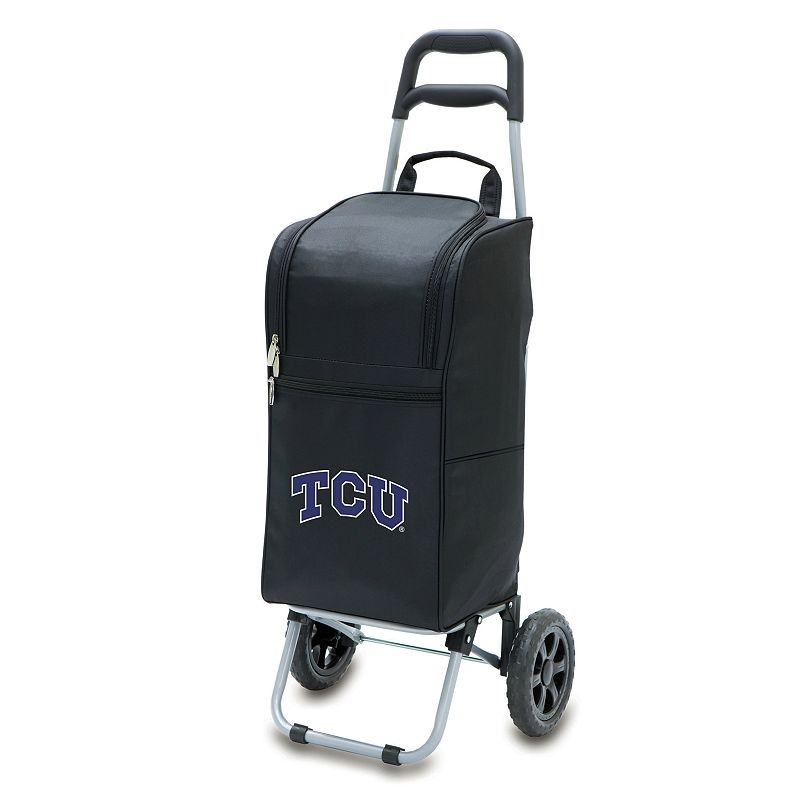 Picnic Time TCU Horned Frogs Cart Cooler