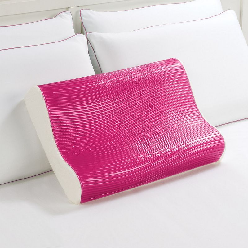 Dream Therapy Gel and Memory Foam Contour Pillow