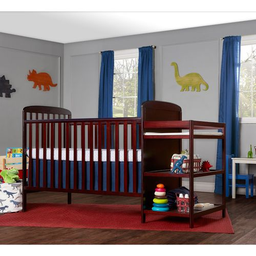Dream On Me 2-in-1 Crib and Changing Table Set