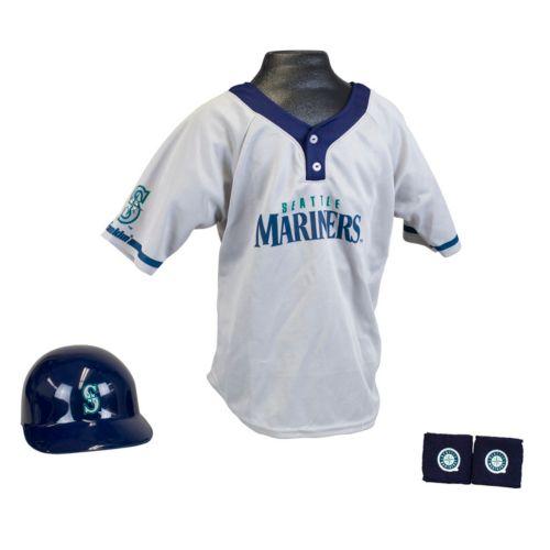 Franklin Seattle Mariners Uniform Set - Boys