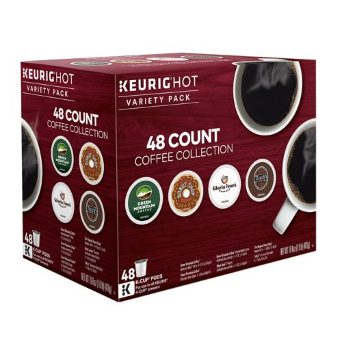Keurig® K-Cup® Pod Coffee Favorites Variety Pack - 48-pk.