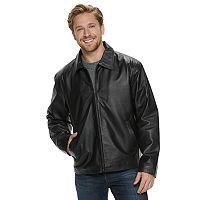 Men's Vintage Leather Black Split Napa Leather Jacket