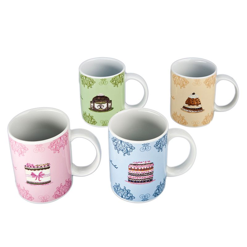 BIA Cordon Bleu 4-pc. Dessert Mug Set