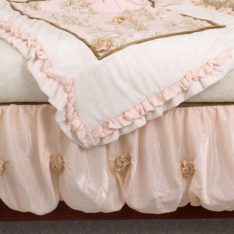 Cotton Tale 3-pc. Lollipops and Roses Crib Bedding Set