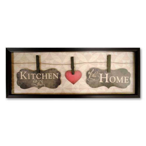 New View Kitchen Wall Decor