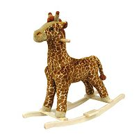 Happy Trails Plush Rocking Giraffe