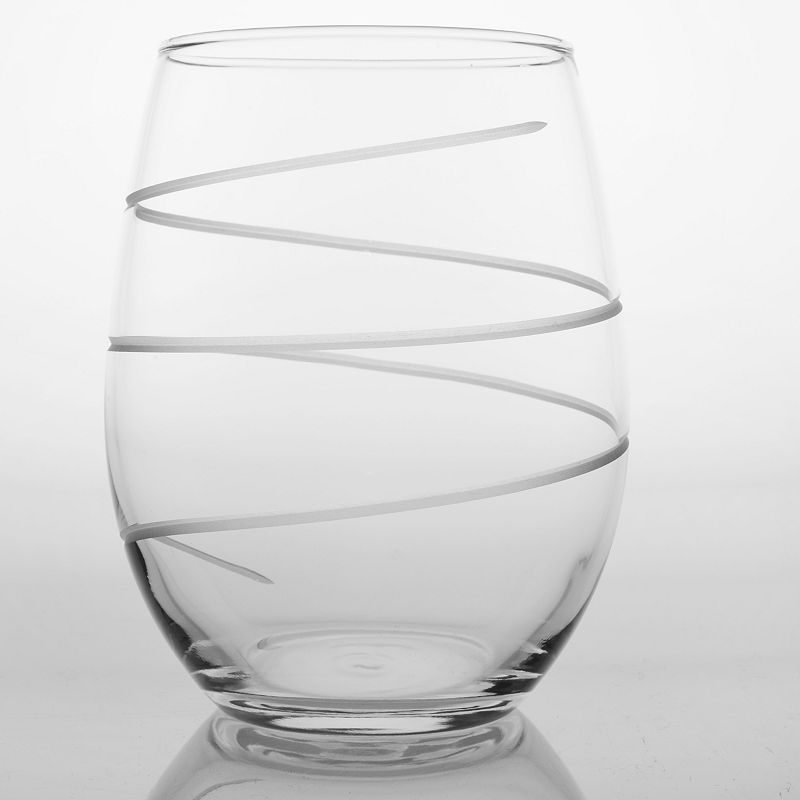 Rolf Glass Spiral 4-pc. Red Wine Tumbler Set