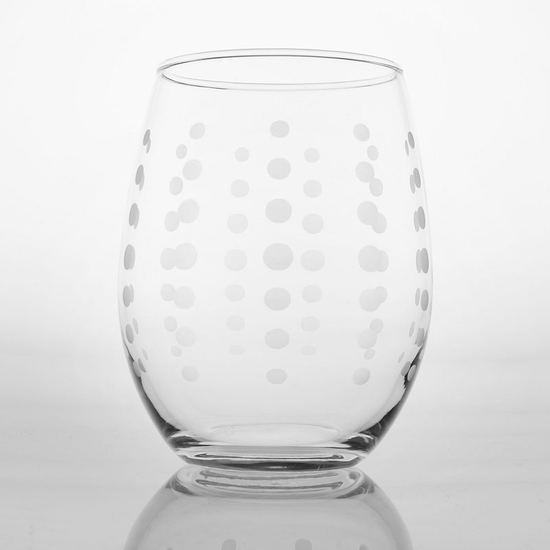 Rolf Glass Pearls 4-pc. White Wine Tumbler Set
