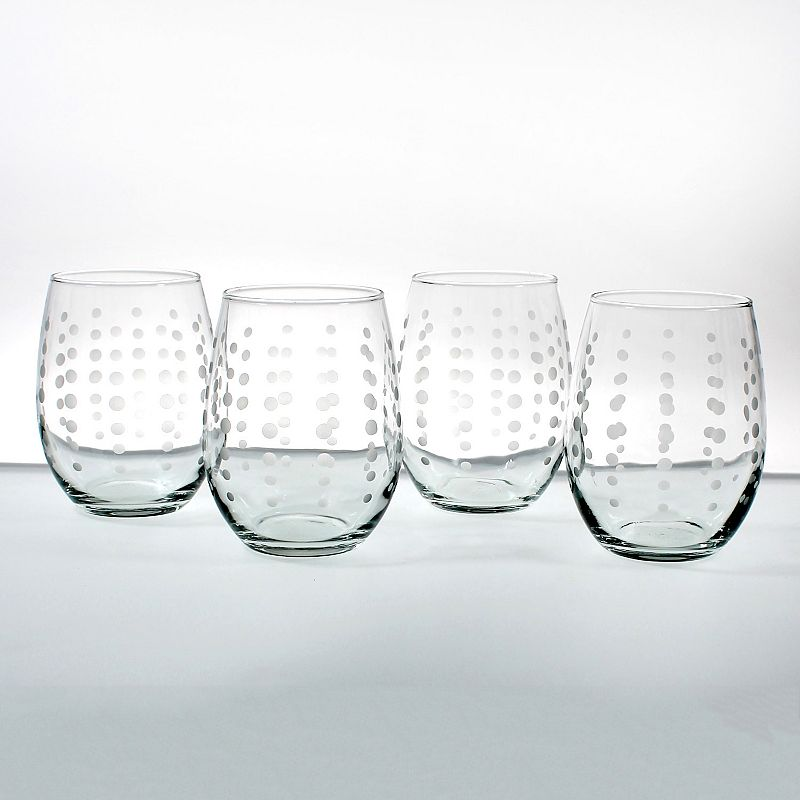 Rolf Glass Pearls 4-pc. Red Wine Tumbler Set
