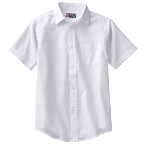 Chaps Solid Oxford Button-Down Shirt - Boys 8-20