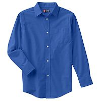 Boys 4-20 Chaps Solid Oxford Button-Down Shirt