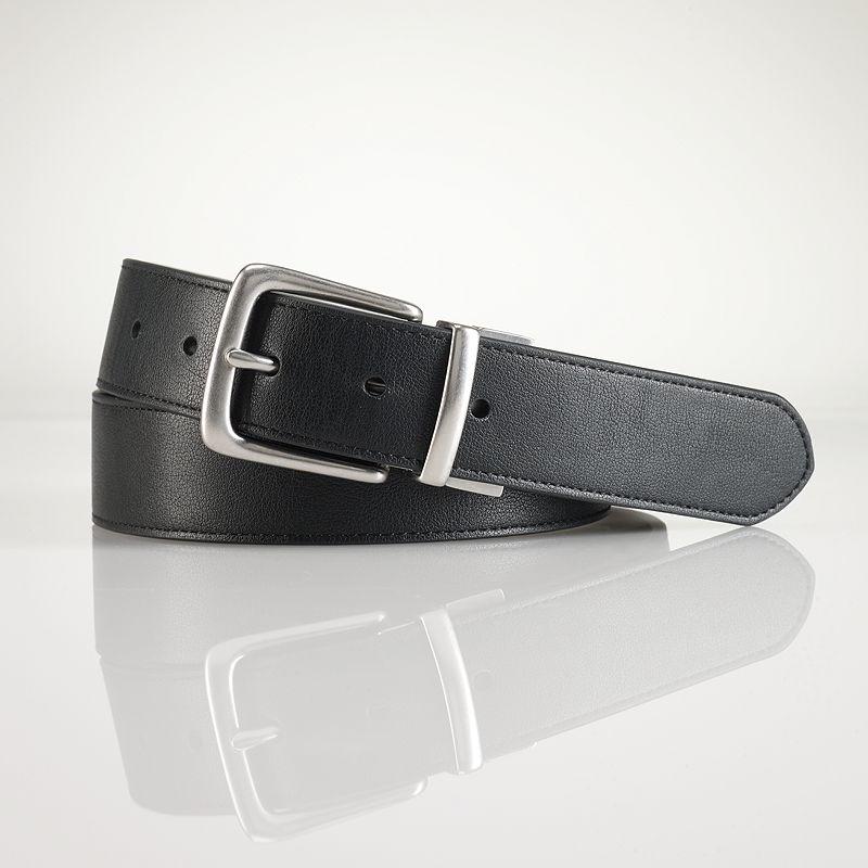 Chaps Leather Reversible Belt