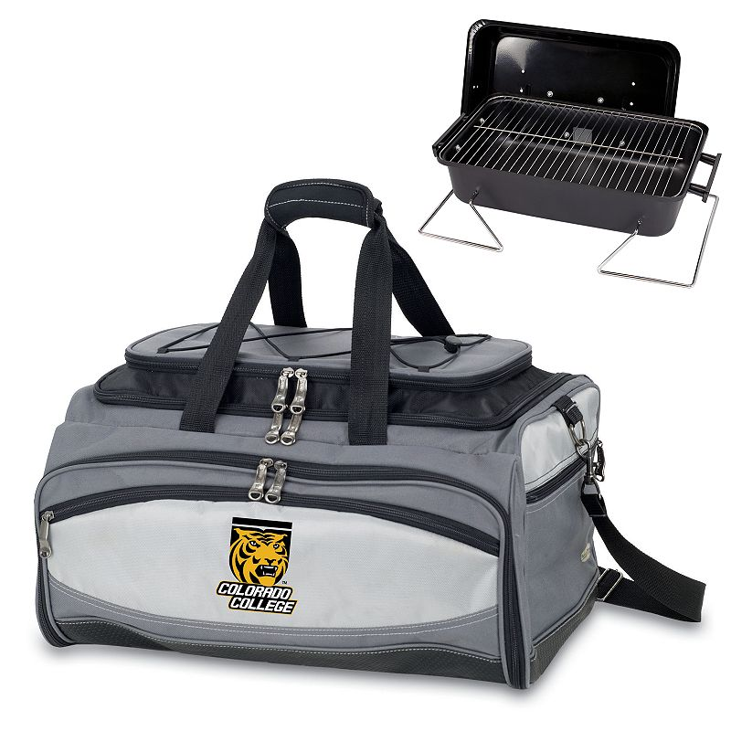 Picnic Time Buccaneer Colorado College Tigers Tailgating Cooler and Grill