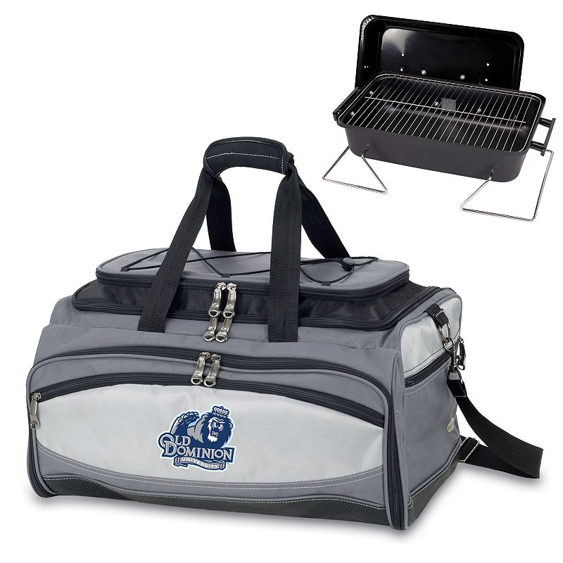 Picnic Time Buccaneer Old Dominion Monarchs Tailgating Cooler and Grill