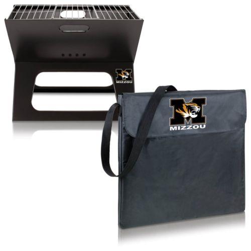 Picnic Time Missouri Tigers Portable X-Grill
