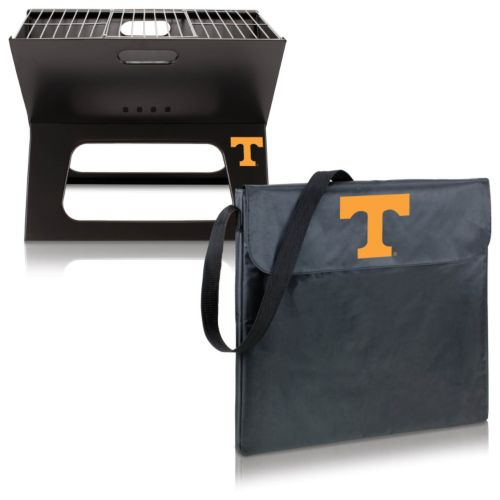 Picnic Time Tennessee Volunteers Portable X-Grill