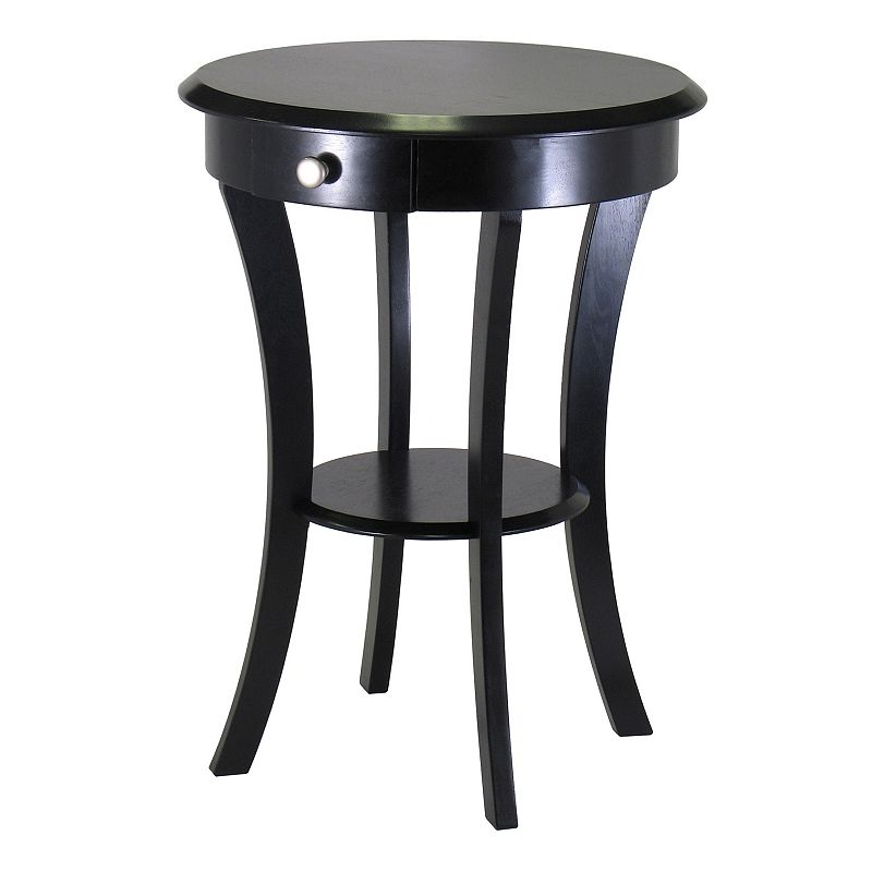 Winsome Sasha Round Accent Table