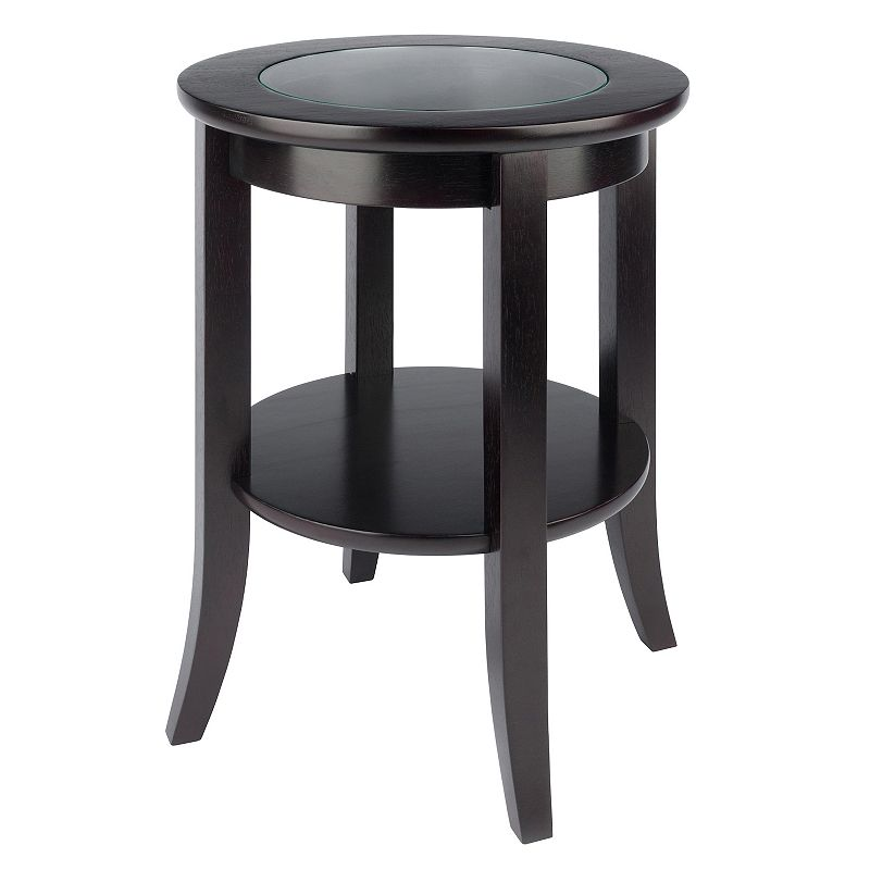 Winsome Genoa Round End Table