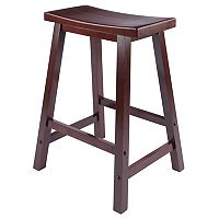 Winsome 24-in. Saddle Seat Stool