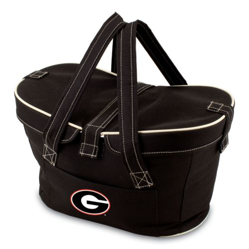 Picnic Time Mercado Georgia Bulldogs Insulated Basket