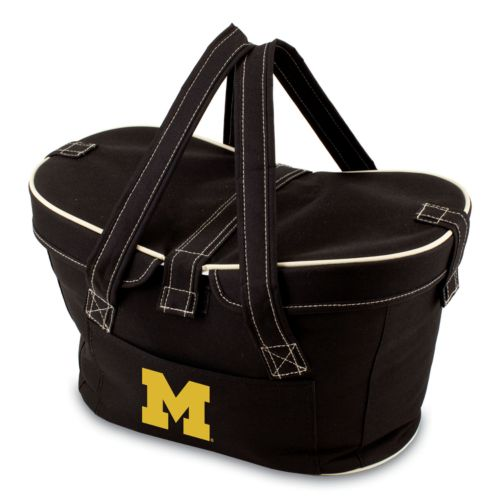 Picnic Time Mercado Michigan Wolverines Insulated Basket
