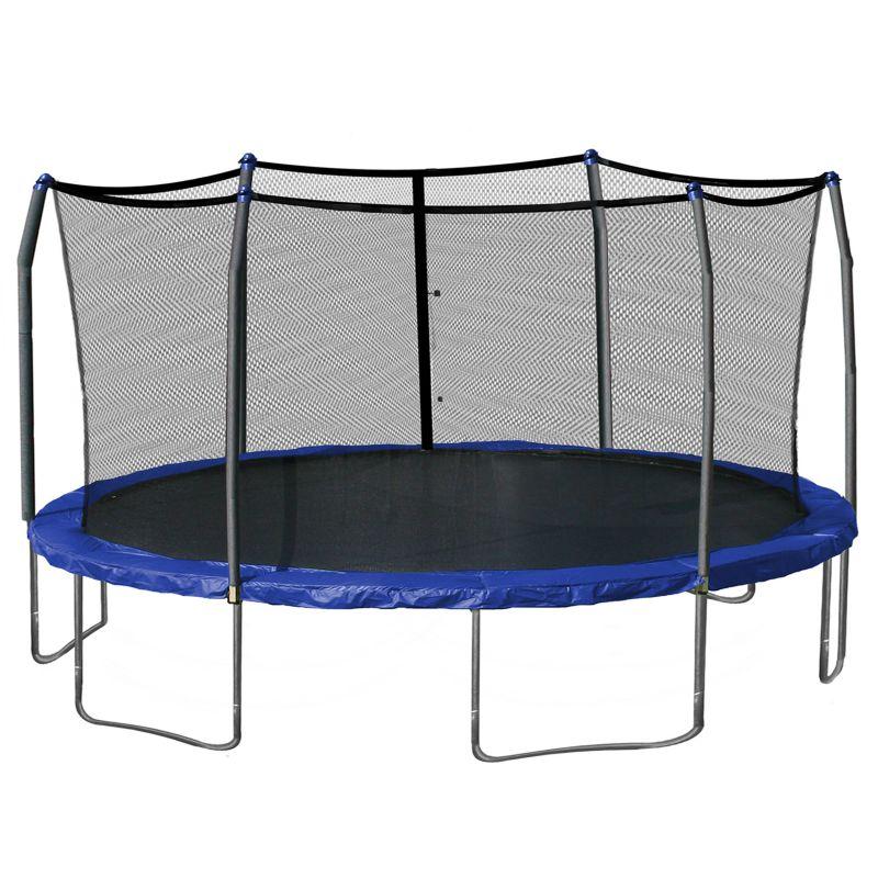 Steel outdoor trampoline kohl s
