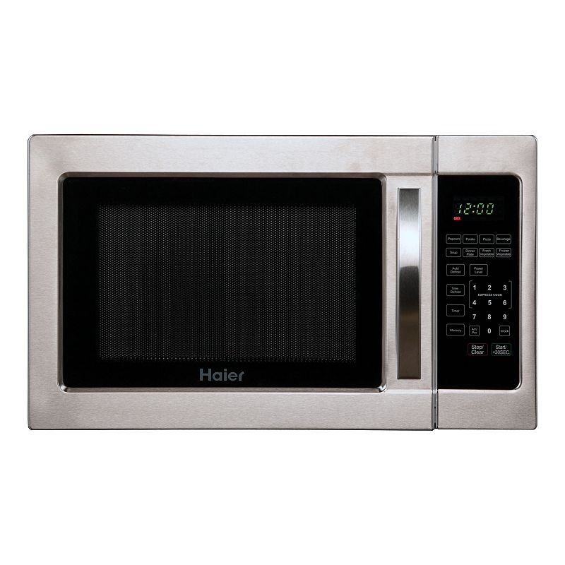 Haier Stainless Steel 1000-Watt Microwave Oven