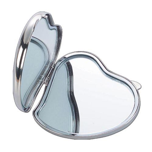 Natico Heart-Shaped Compact Mirror