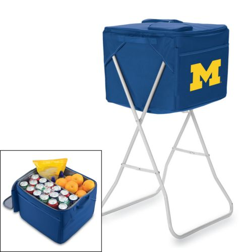 Picnic Time Michigan Wolverines Party Cube