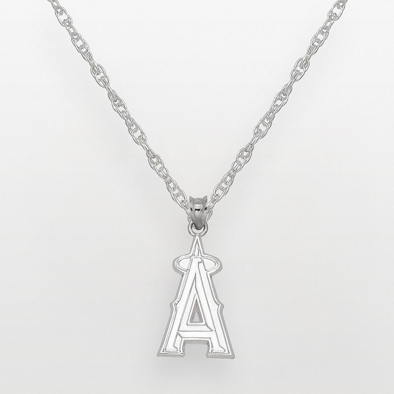 Los Angeles Angels of Anaheim Sterling Silver Logo Pendant
