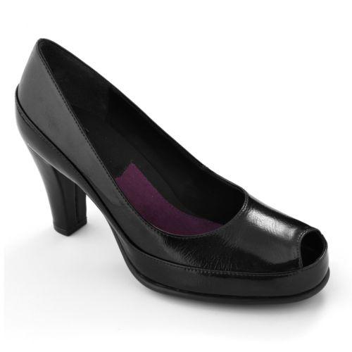 A2 by Aerosoles Big Ben Peep-Toe Dress Heels - Women