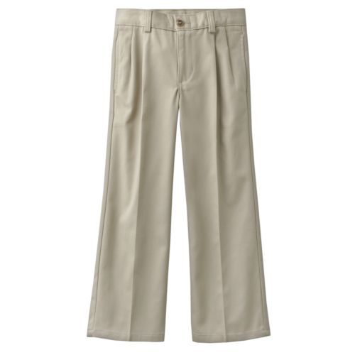 Chaps Pleated Twill School Uniform Pants - Boys 4-7x