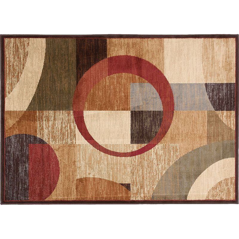KHL Rugs Contemporary Geometric Rug - 5' x 7'
