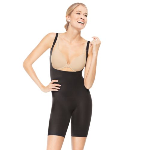 ASSETS Red Hot Label by Spanx Silhouette Serums Mid-Thigh Body Shaper 1647 - Women's