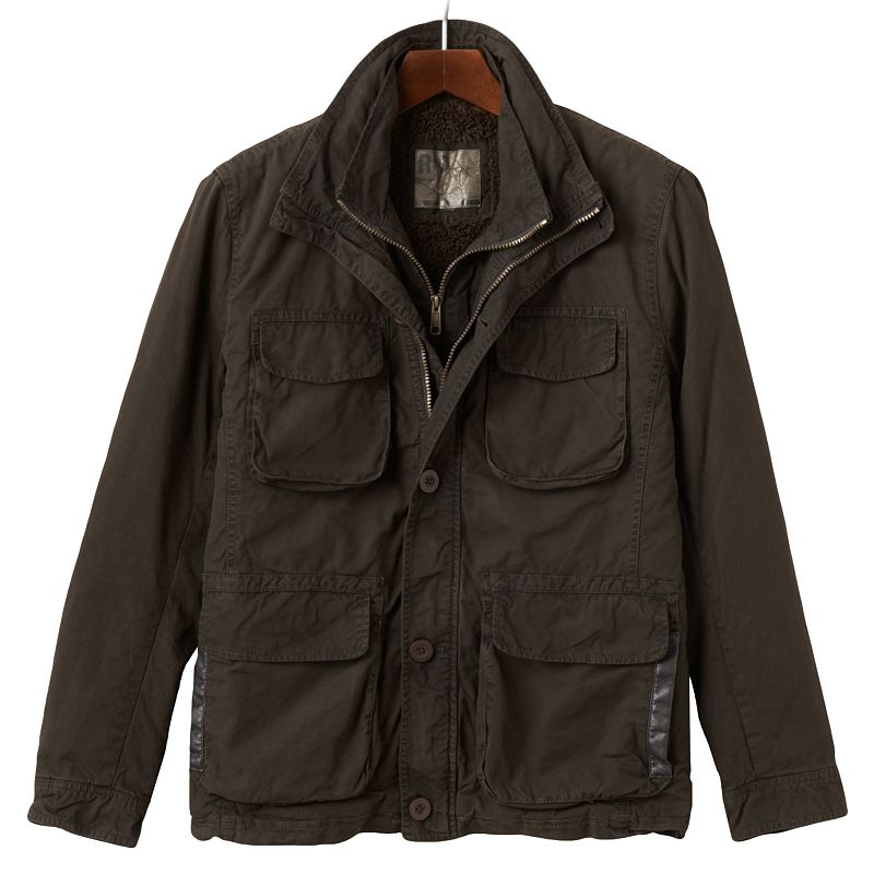 Men's R and O Bibbed 4-Pocket Jacket