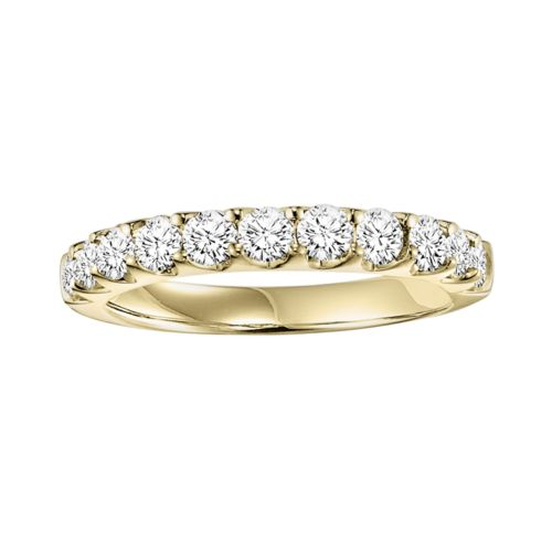 Cherish Always 14k Gold 1-ct. T.W. Round-Cut Diamond Wedding Ring